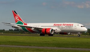 Kenya airways Direct flights from New York to Nairobi and vice versa